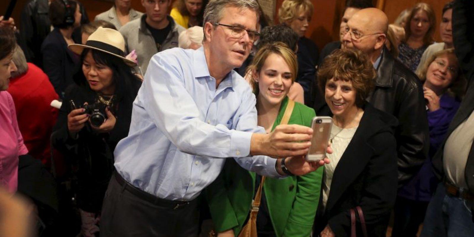 El exgobernador de Florida Jeb Bush, hermano del expresidente George W. Bush Foto:Getty Images
