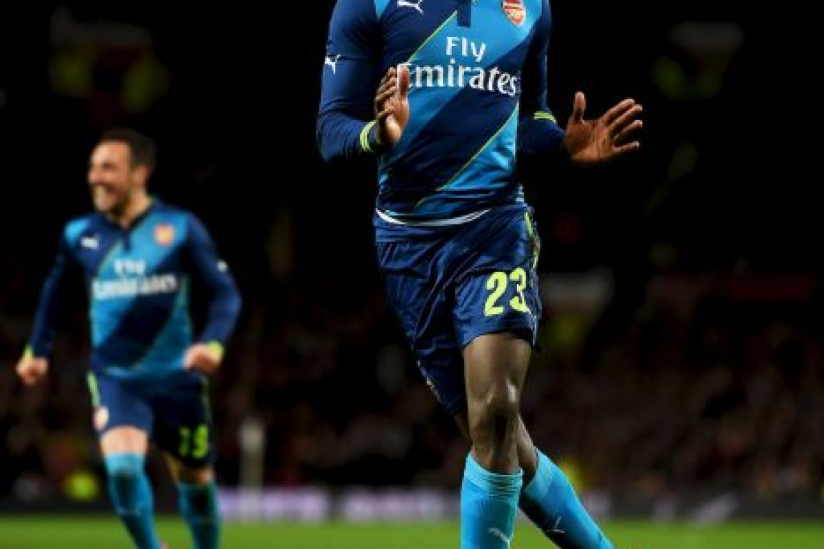 5. Danny Welbeck vs Manchester United Foto:Getty Images