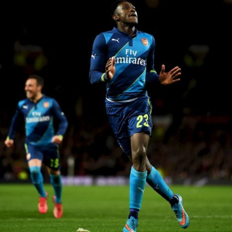 5. Danny Welbeck vs Manchester United Foto: Getty Images