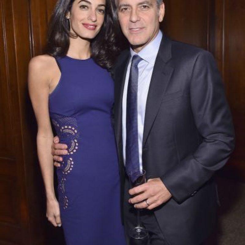 Clooney después de jurar no volverse a casar anunció su noviazgo con la abogada británica, Amal Alamuddin Foto:Getty Images