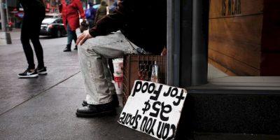 4. Según datos de 2012 se estima que el número de indigentes en España ascendía a 40 mil personas. Foto:Getty Images