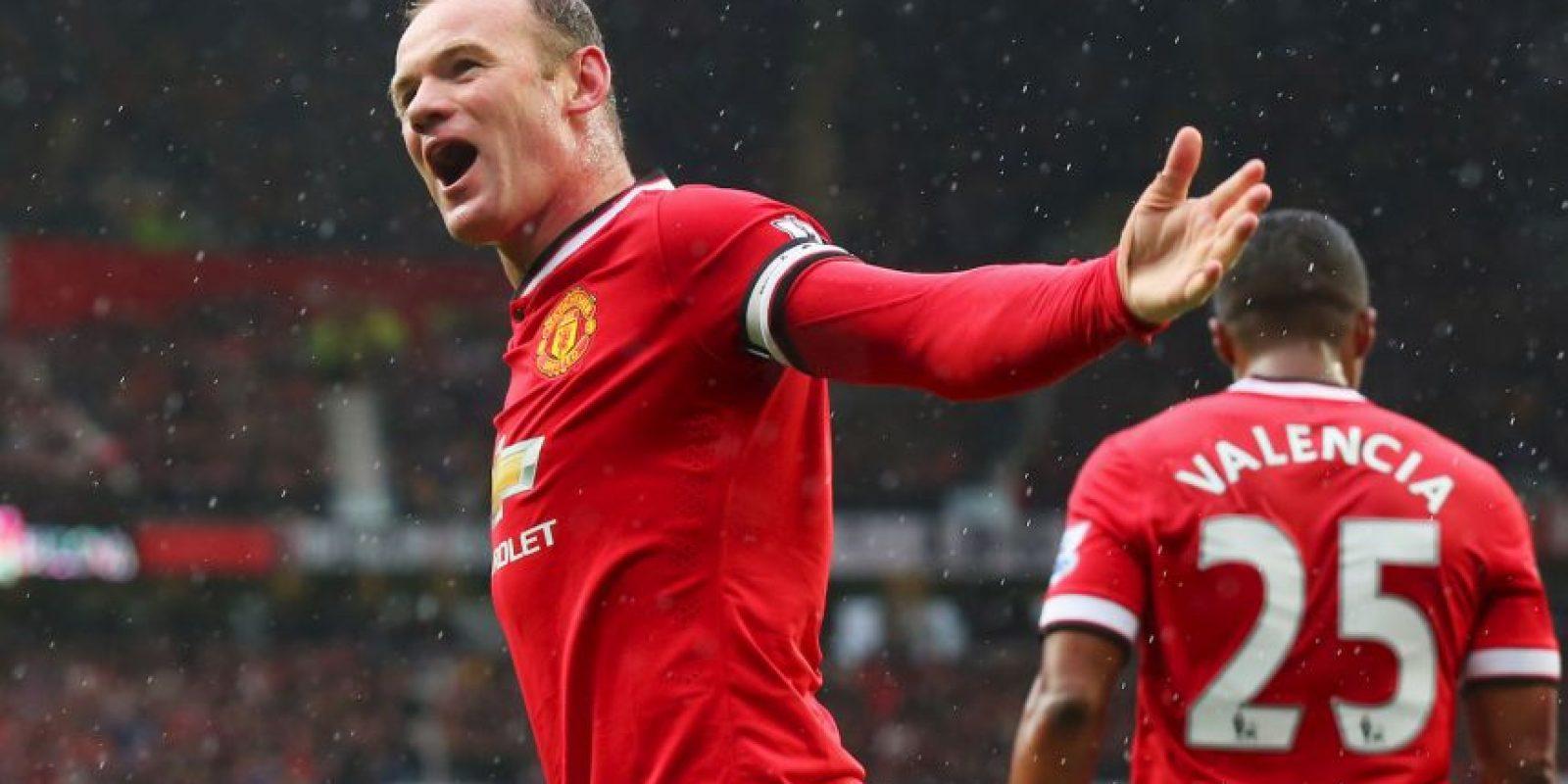 Gracias al contrato recién firmado con el Manchester United, Rooney recibirá 25.94 millones de dólares cada año. Foto:Getty Images