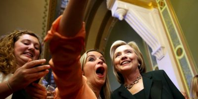 La candidata presidencial, Hillary Clinton Foto: Getty Images