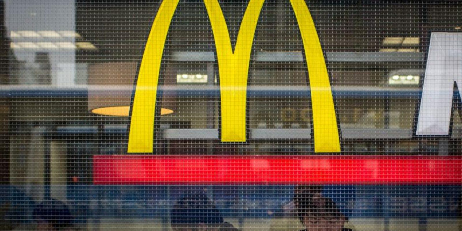 6) McDonal's 39 mil 900 millones de dólares Foto:Getty Images