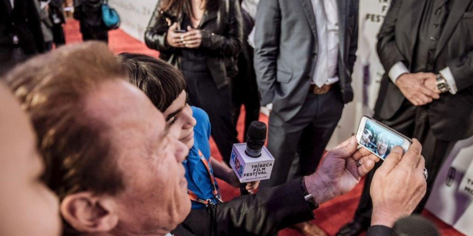 El actor y ex gobernador de California, Arnold Schwarzenneger Foto:Getty Images