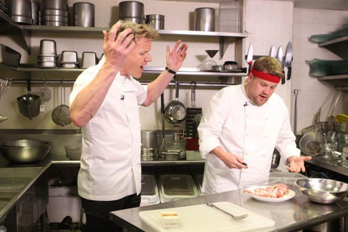 """Todo el mundo sabe cómo trata Gordon Ramsay a sus empleados, con solamente ver """"Hell´s Kitchen"""". Foto:vía Getty Images"""