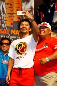 Manny Pacquiao, boxeador profesional Foto: Getty Images