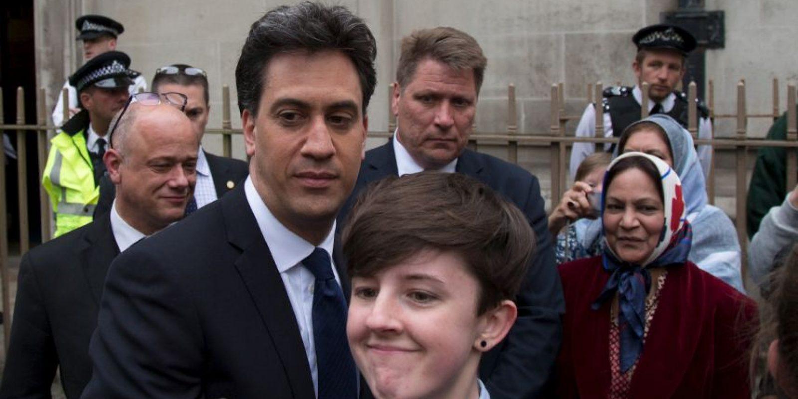 Ed Miliband, exlíder del partido laborista Foto:Getty Images