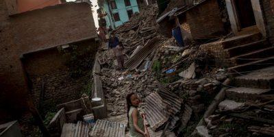 9. 39 de los 75 distritos del país fueron afectados por el terremoto del 25 de abril. Foto:Getty Images