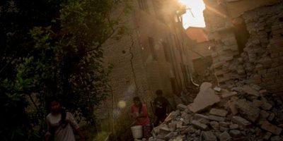 8. El PMA tiene como objetivo proporcionar alimentos a 1,4 millones de personas que necesitan asistencia urgente tras el terremoto y por los próximos tres meses. Foto:Getty Images