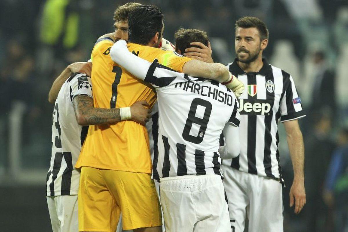 """La """"Juve"""" aprovechó la localía en el partido de ida para vencer 2-1 a los merengues Foto:Getty Images"""