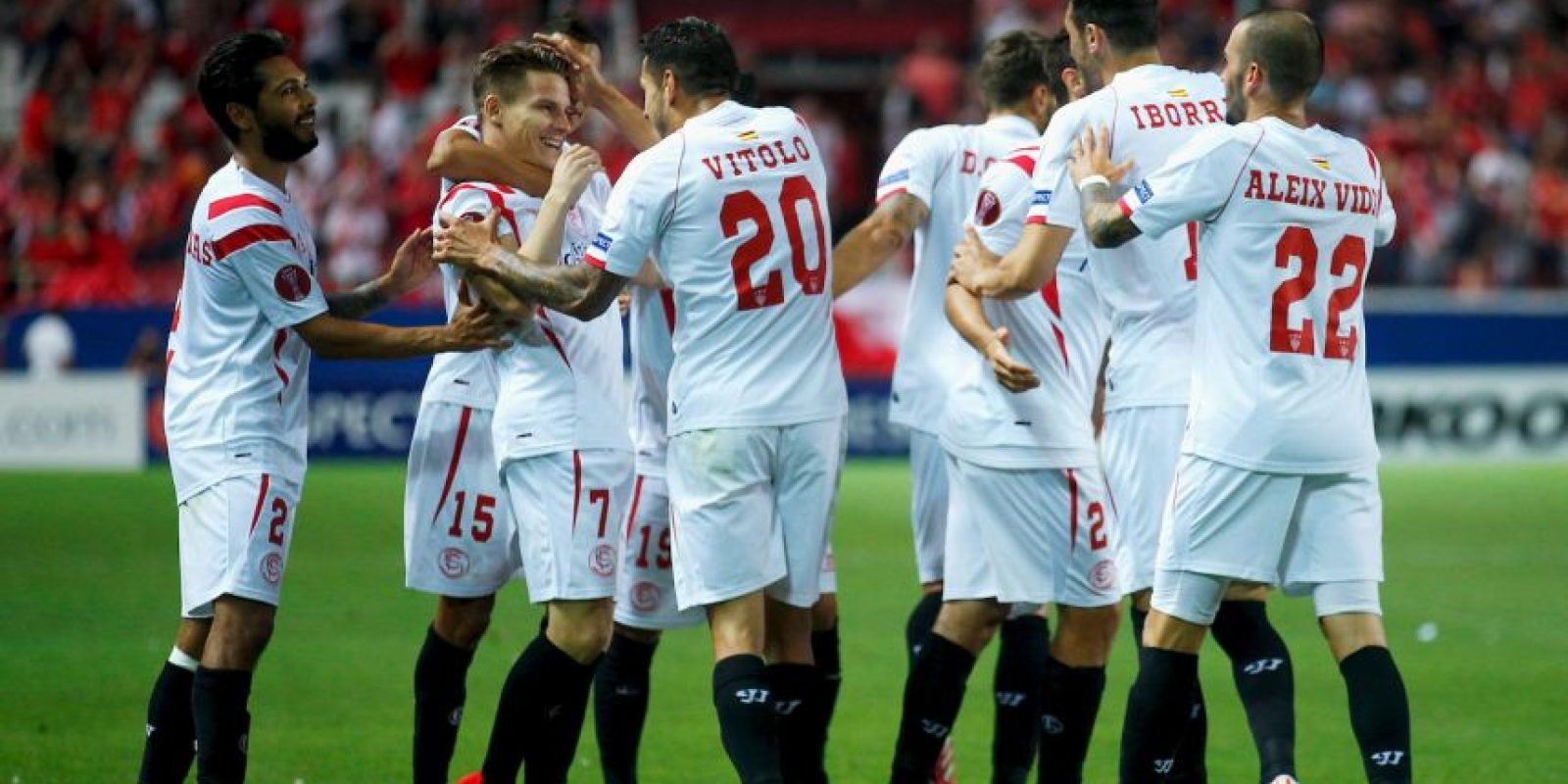 Los españoles vencieron 3-0 a Fiorentina en la ida de las semifinales Foto:Getty Images