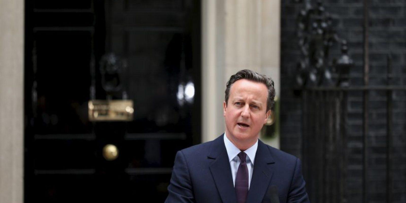 David Cameron ha decidido acelerar sus planes para la celebración del referéndum de la Unión Europea. Foto:Getty Images