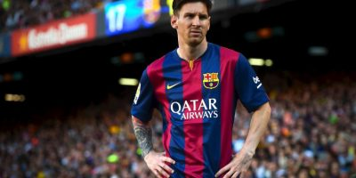 El fisioterapeuta ha hecho el cuerpo de Messi similar al de un velocista. Foto:Getty Images