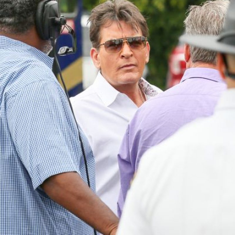 Charlie Sheen Foto: vía Getty Images