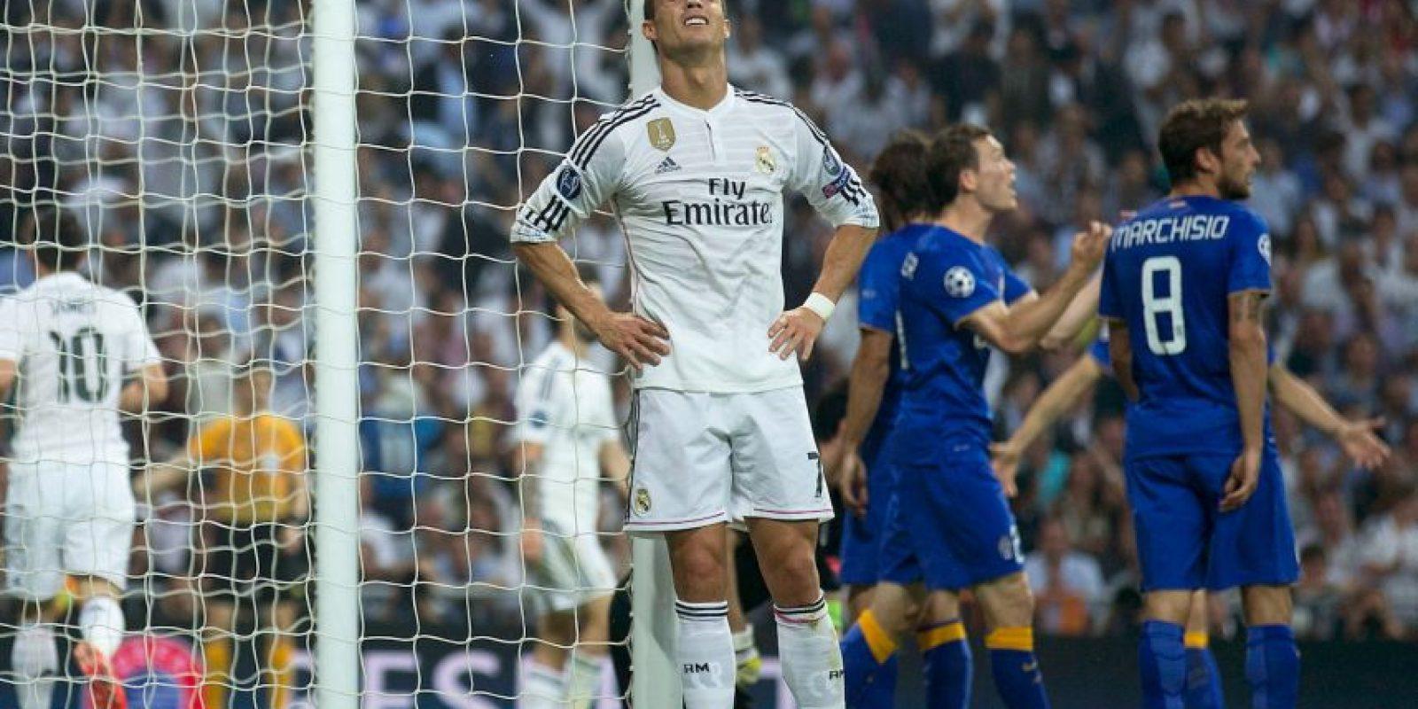 """Los """"merengues"""" fueron eliminados de la Liga de Campeones por Juventus Foto:Getty Images"""