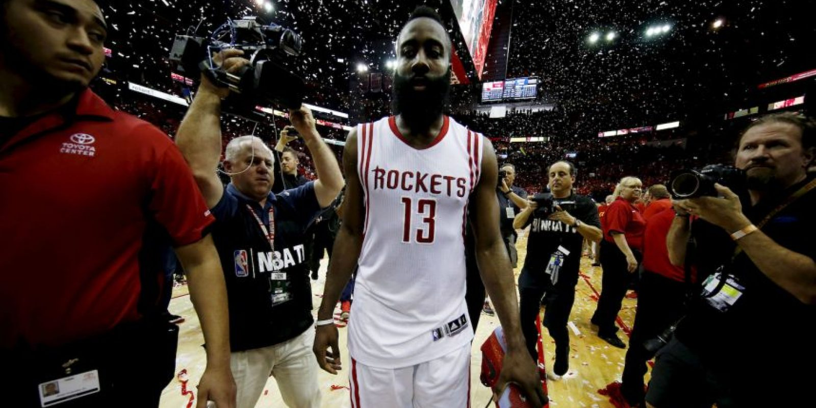 Es el líder de los Houston Rockets, que vuelven a una final de Conferencia a la que no asistían desde 1997 Foto: Getty Images