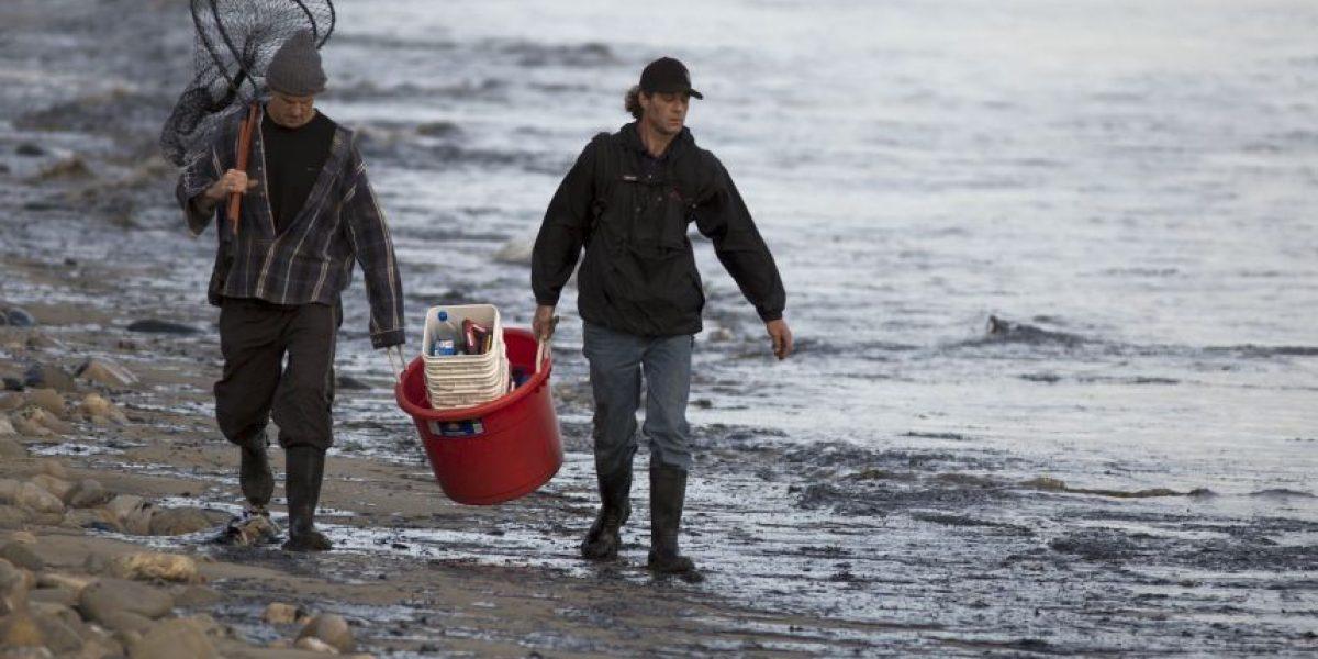 FOTOS: 15 desoladoras imágenes del derrame de petróleo en California