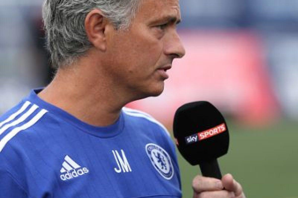 4. José Mourinho vs. Cesc Fábregas. Foto:Getty Images
