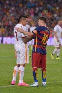 Lionel Messi debutó con el Barcelona en la nueva temporada. Foto:Getty Images