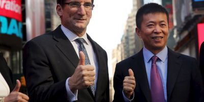 Weibo es parte del bolsa de valores electrónica y automatizada más grande de los Estados Unidos, Nasqad Foto:Getty Images