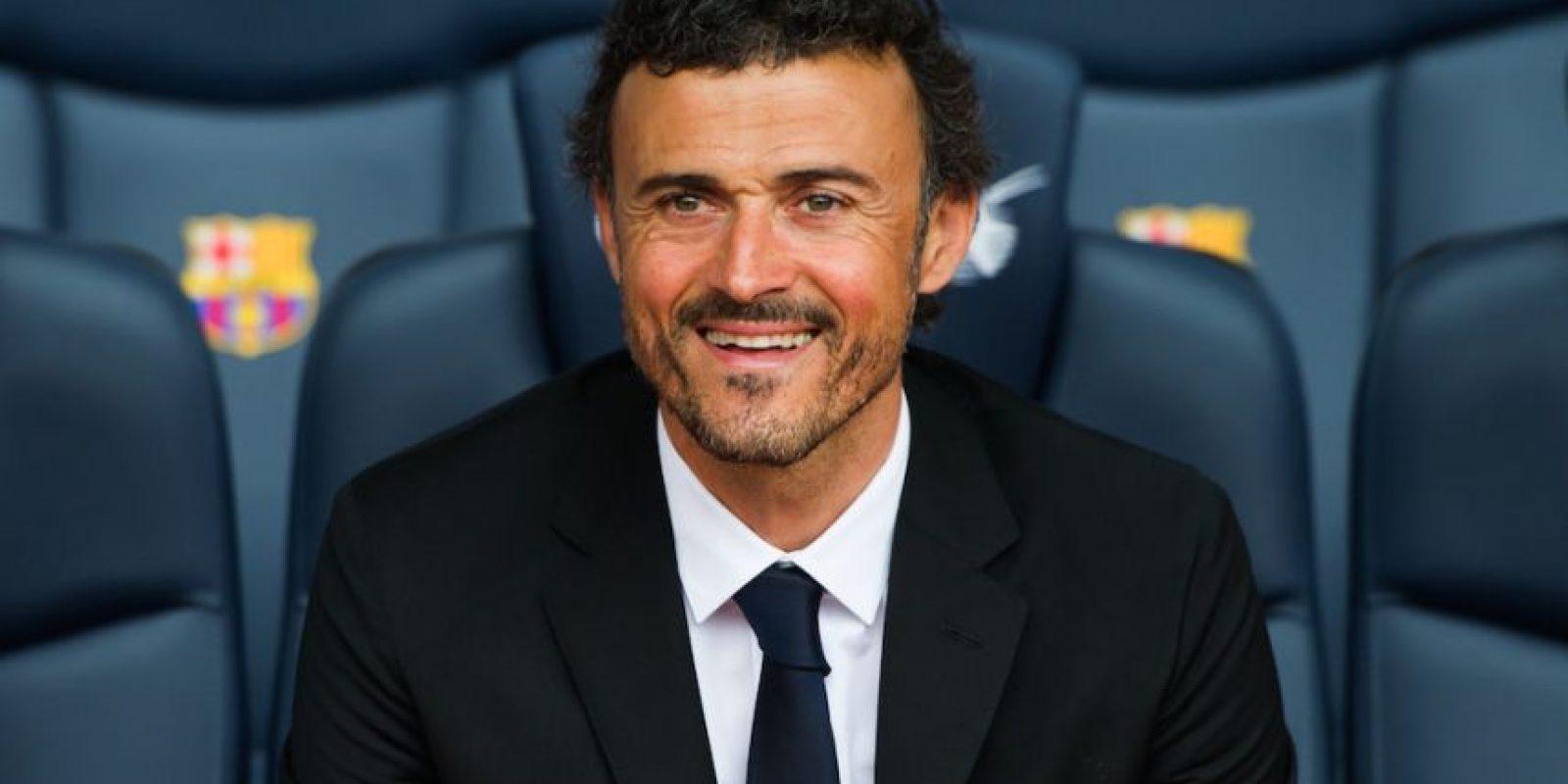 Luis Enrique, técnico del Barcelona, no quiere esperar hasta la última jornada para coronarse. Foto:Getty Images
