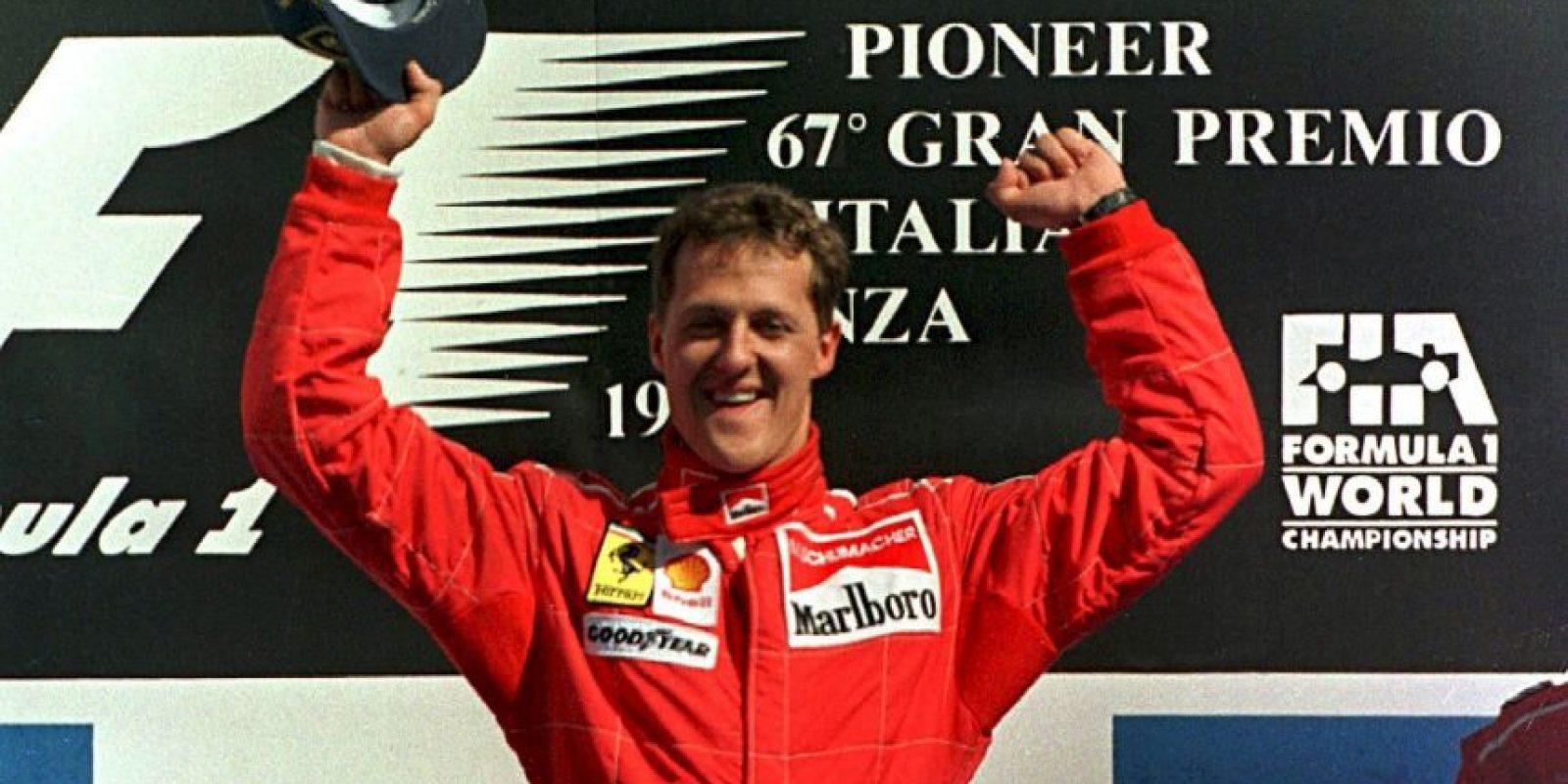 6. Michael Schumacher Foto:Getty Images