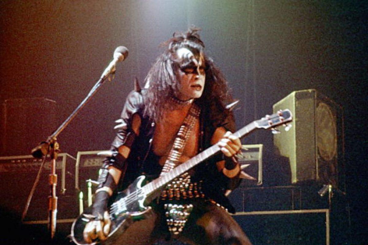 """Afirma haber dormido con 8 mil mujeres. El bajista de """"Kiss"""" también dice que tiene """"recuerdos"""" físicos de todas ellas. Foto:vía Getty Images"""