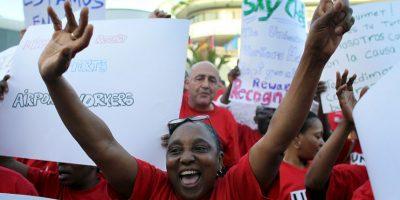 Algunos de los demandantes llevan más de nueve años trabajando para la empresa. Foto:Getty Images