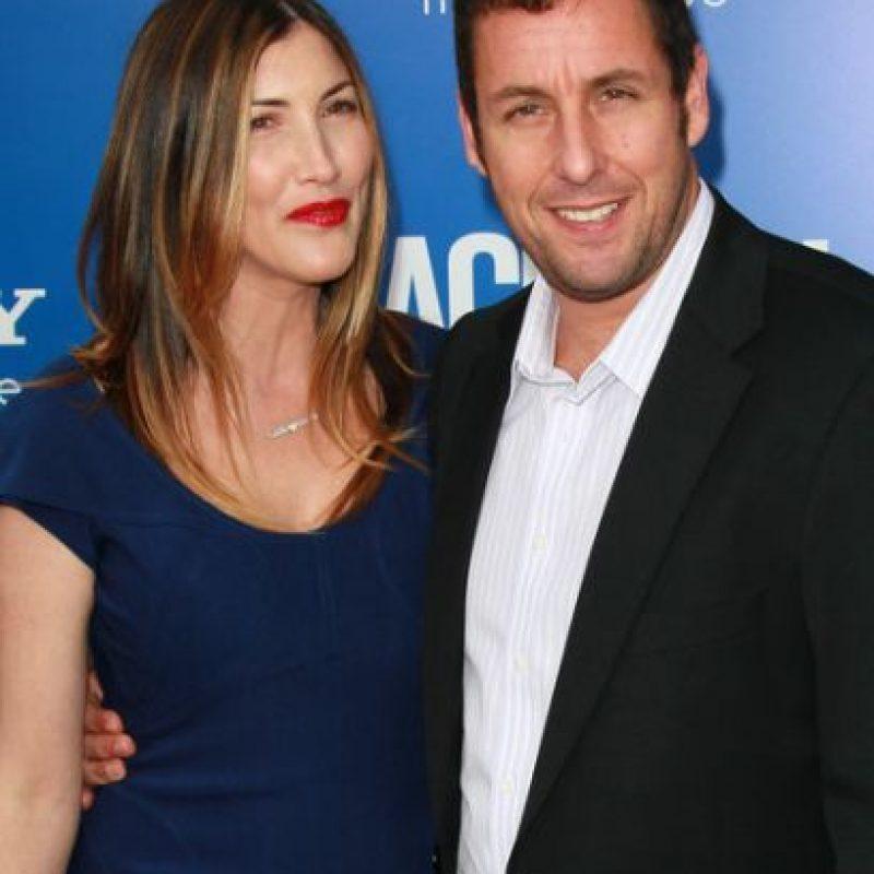 Adam y Jackie Sandler Foto:Agencias