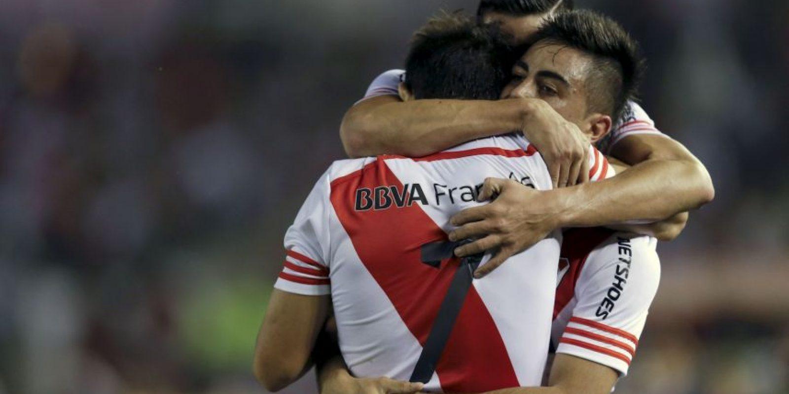 """En tanto, los """"Millonarios"""" eliminaron a su archirrival en semifinales de la Copa Sudamericana en 2014, para luego terminar coronándose campeones de este certamen. Foto:AP"""