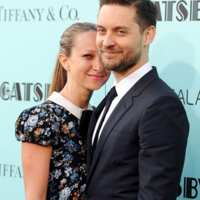 Tobey Maguire y Jennifer Meyer Foto:Agencias