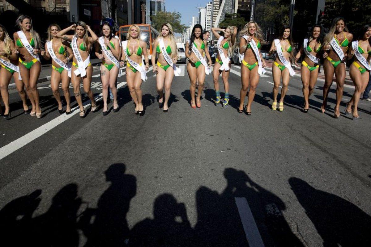 Esta competencia busca a la chica con mejor trasero del país. Foto:AP