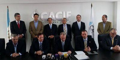 CACIF: Sostiene que se deben revisar todos los contratos con anomalías