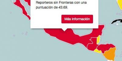 """""""México, Colombia y Cuba, entre los peores países para el periodismo"""": RSF"""