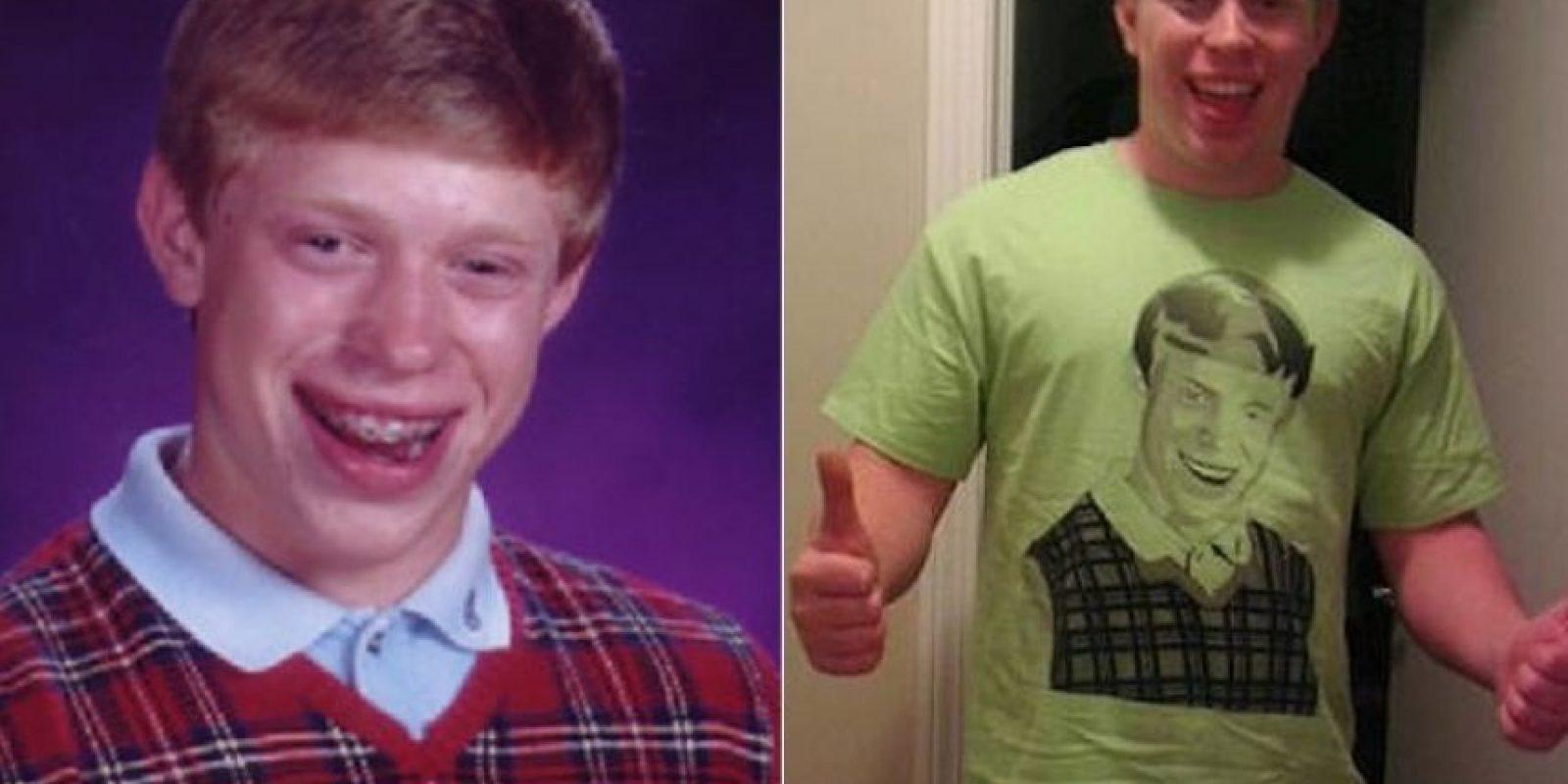Se llama Kyle Craven, y su foto de adolescente se hizo viral, dándole origen a Bad Luck Brian. Foto:Portalpower