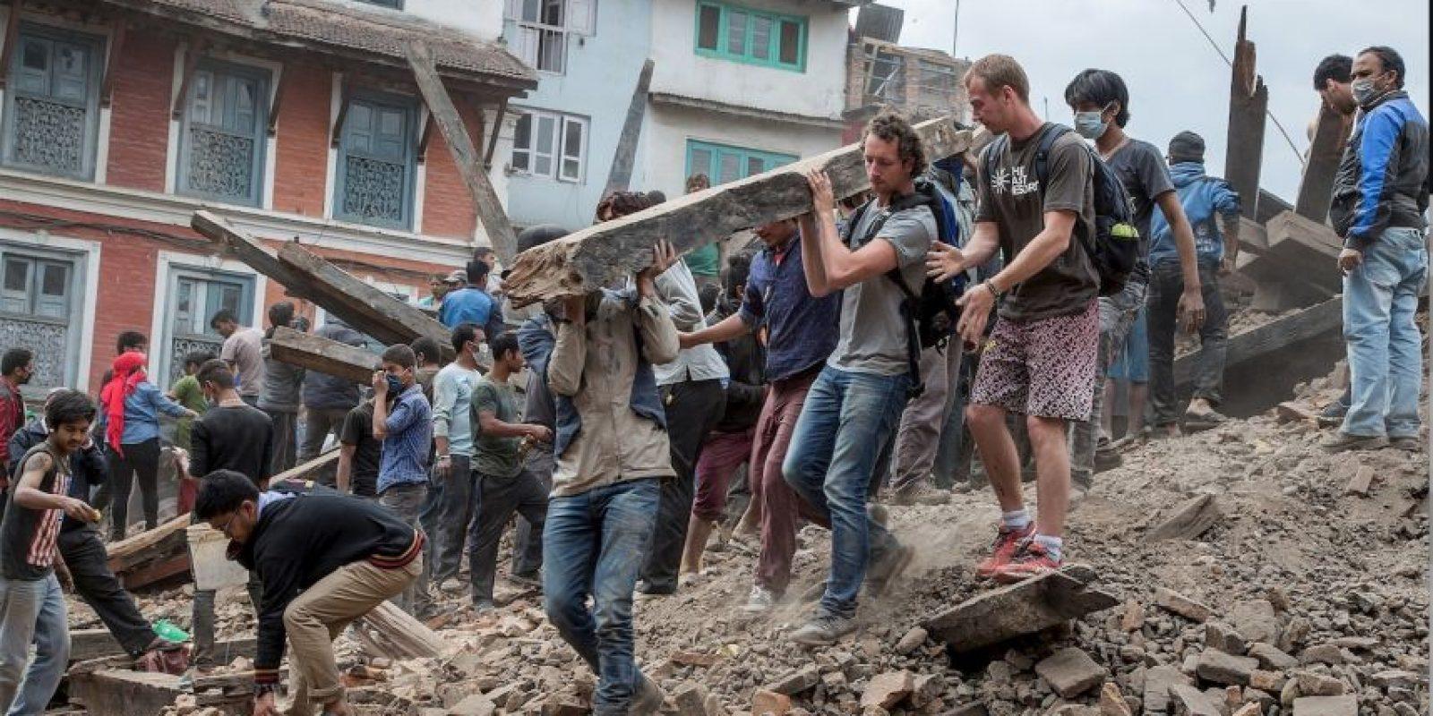 18. Kodari, Nepal. 12 de mayo. Magnitud 7.3 Foto:Getty Images