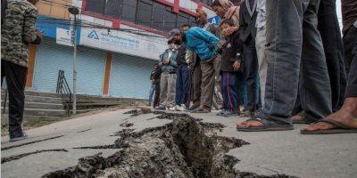 7. Lamjung, Nepal. 25 de abril. Magnitud 6.6 Foto:Getty Images