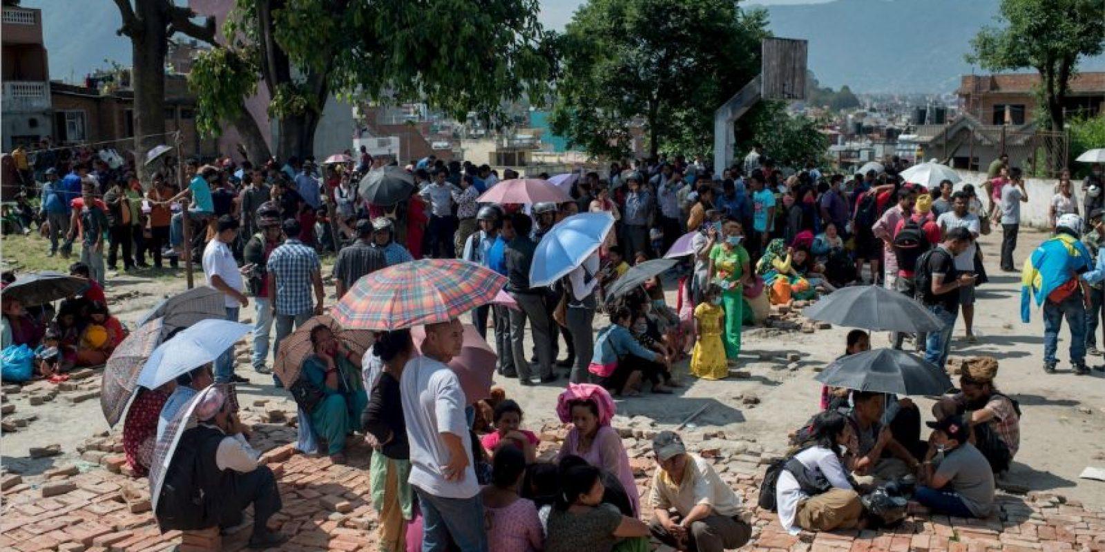 8. Kodari, Nepal. 26 de abril. Magnitud 6.7 Foto:Getty Images