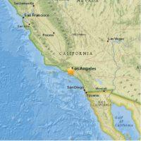 1. Park Windsor Hills, California: 13 de abril. Magnitud 3.3 grados en la escala de Richter. Foto:Earthquake.usgs.gov