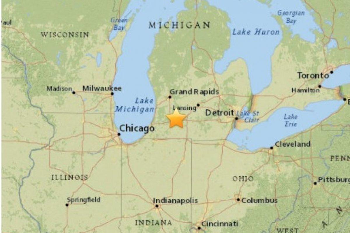 12. Michigan, 2 de mayo. Magnitudf 4.2 Foto:Earthquake.usgs.gov