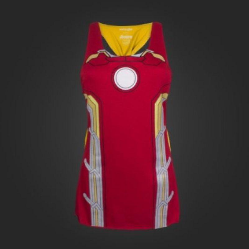 "Esta blusa inspirada en el traje ""Iron Man"" Foto:welovefine.com"