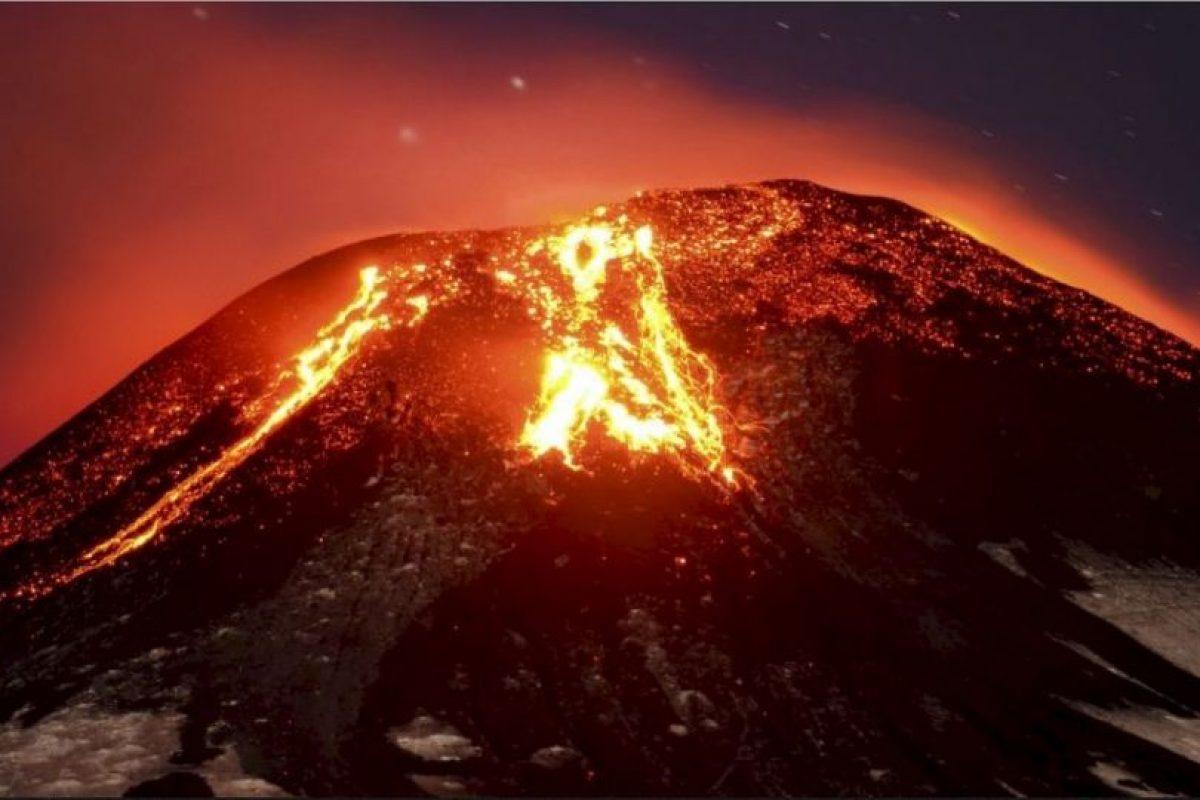 4. Volcán Villarrica, Chile Foto:AP