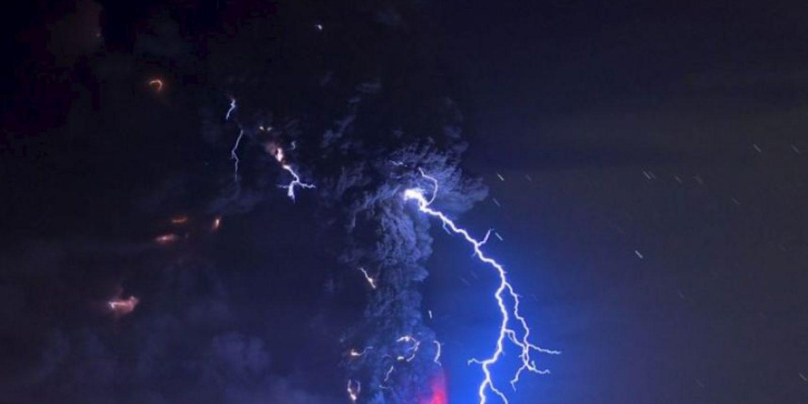 6. Volcán Calbuco, Chile Foto:AFP