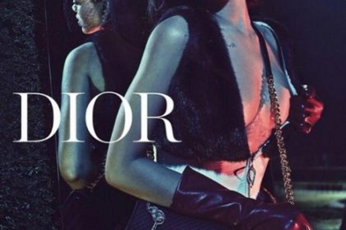 Rihanna se convirtió en la primera mujer negra como imagen de la firma francesa. Foto:Instagram/badgalriri