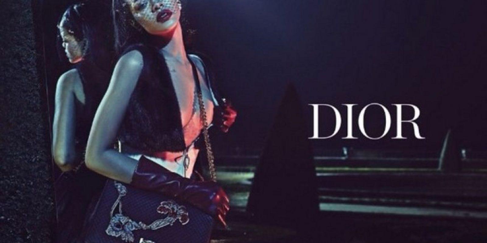 "Dior:""The Secret Garden"" Foto:Instagram/badgalriri"
