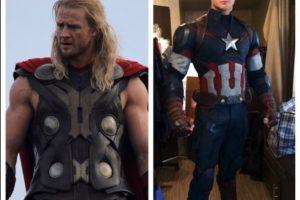 """También ha doblado a Chris Evans como """"Capián América"""" Foto:twitter.com/bobbyhanton"""