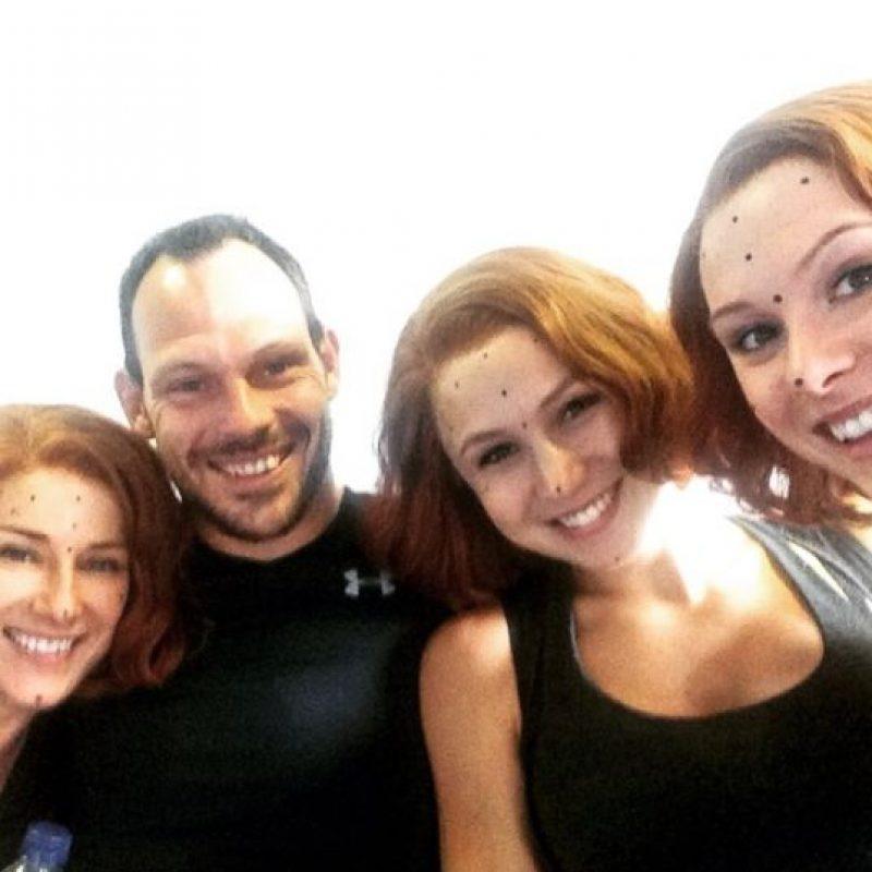 """Debido al embarazo de Johansson, la producción de """"Avengers: Age of Ultron"""" contrató a tres dobles de la actriz. Foto:vía instagram.com/kaskadare"""