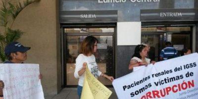 IGSS rescinde contrato con proveedor de tratamientos para enfermos renales