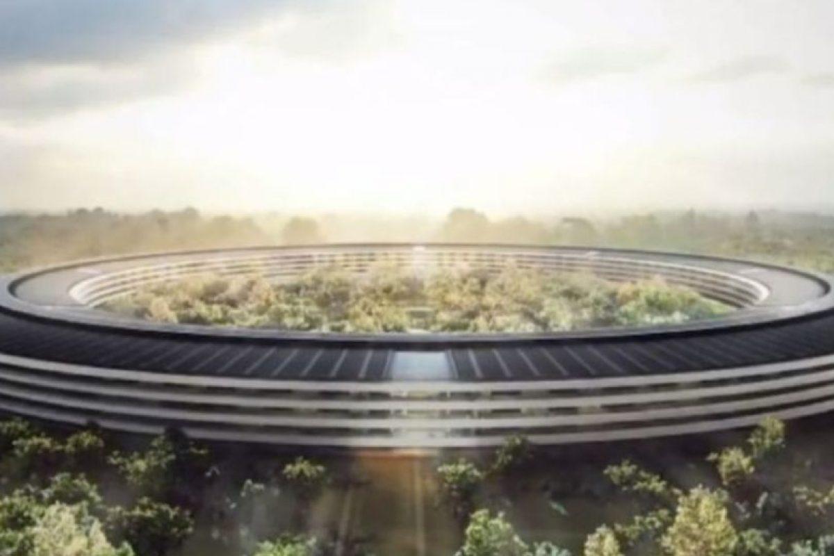 Cuando se termine, en Campus 2 laborarán 13 mil personas. Foto:Apple
